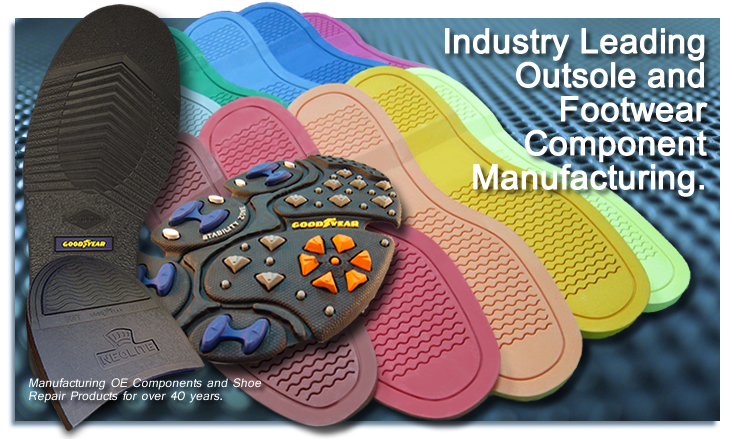 Industry leading outsole manufacturing.